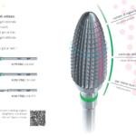Fresoni FSQ per rifinitura resine protesiche