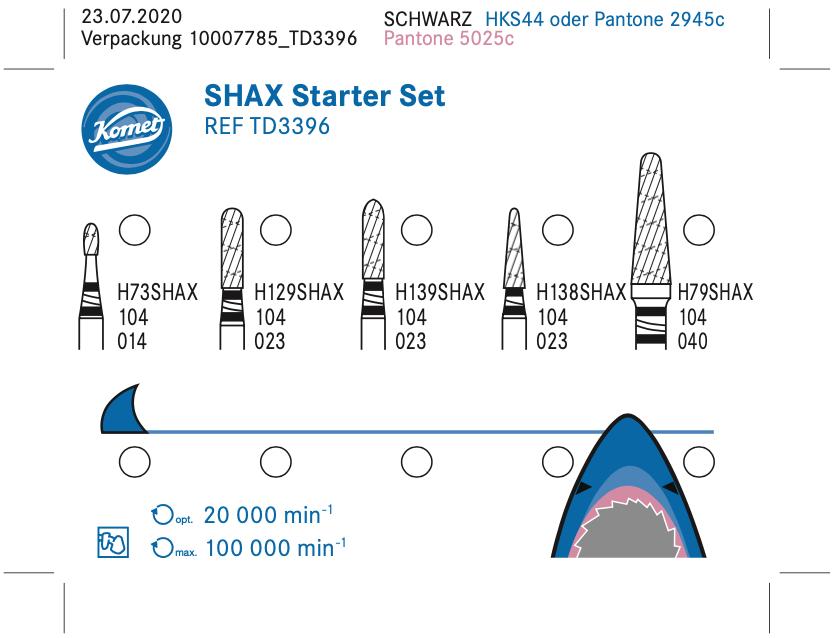 SHAX starter set schema del Kit