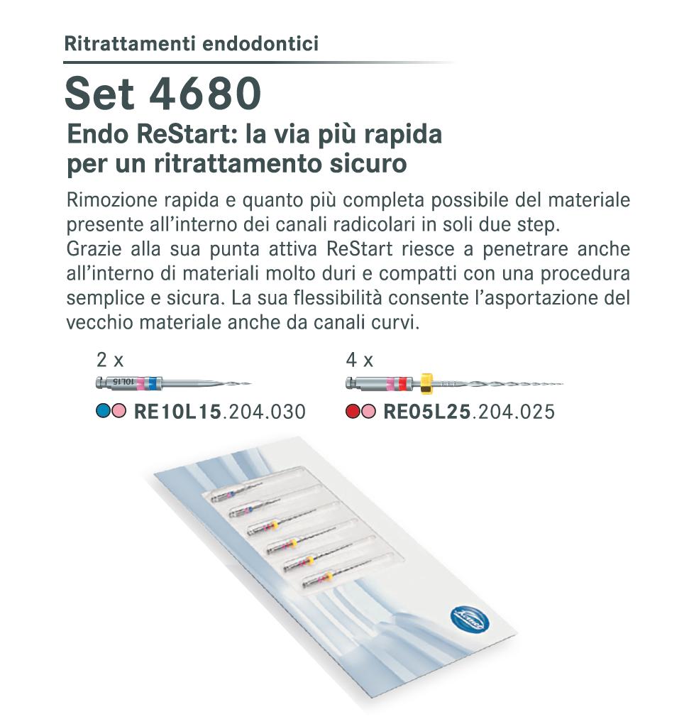 Set 4680 Endo ReStart