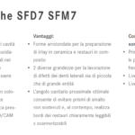 SFD7 SFM7 punte soniche Komet