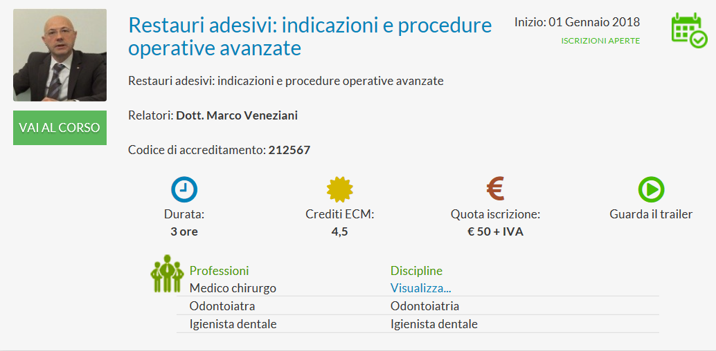 Corso FAD Veneziani 4_5 ECM