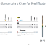 Nuove diamantate a chamfer modificato