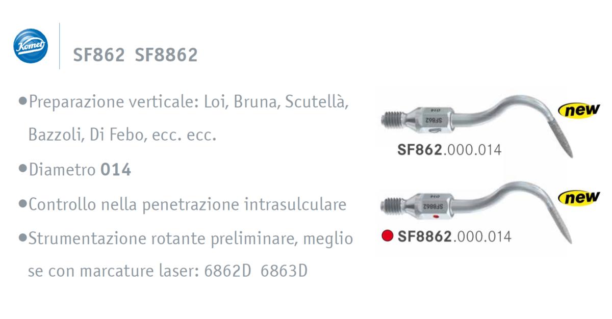 Punte soniche per protesi SF8862