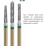Fig. 1 Disegno della punta abrasiva da preparazione