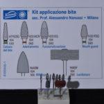 Fig. 8 Kit Komet di applicazione bite Prof. Alessandro Nanussi – Milano, utilizzato per rifinire ed individualizzare il dispositivo di incremento della DVO iniziale.