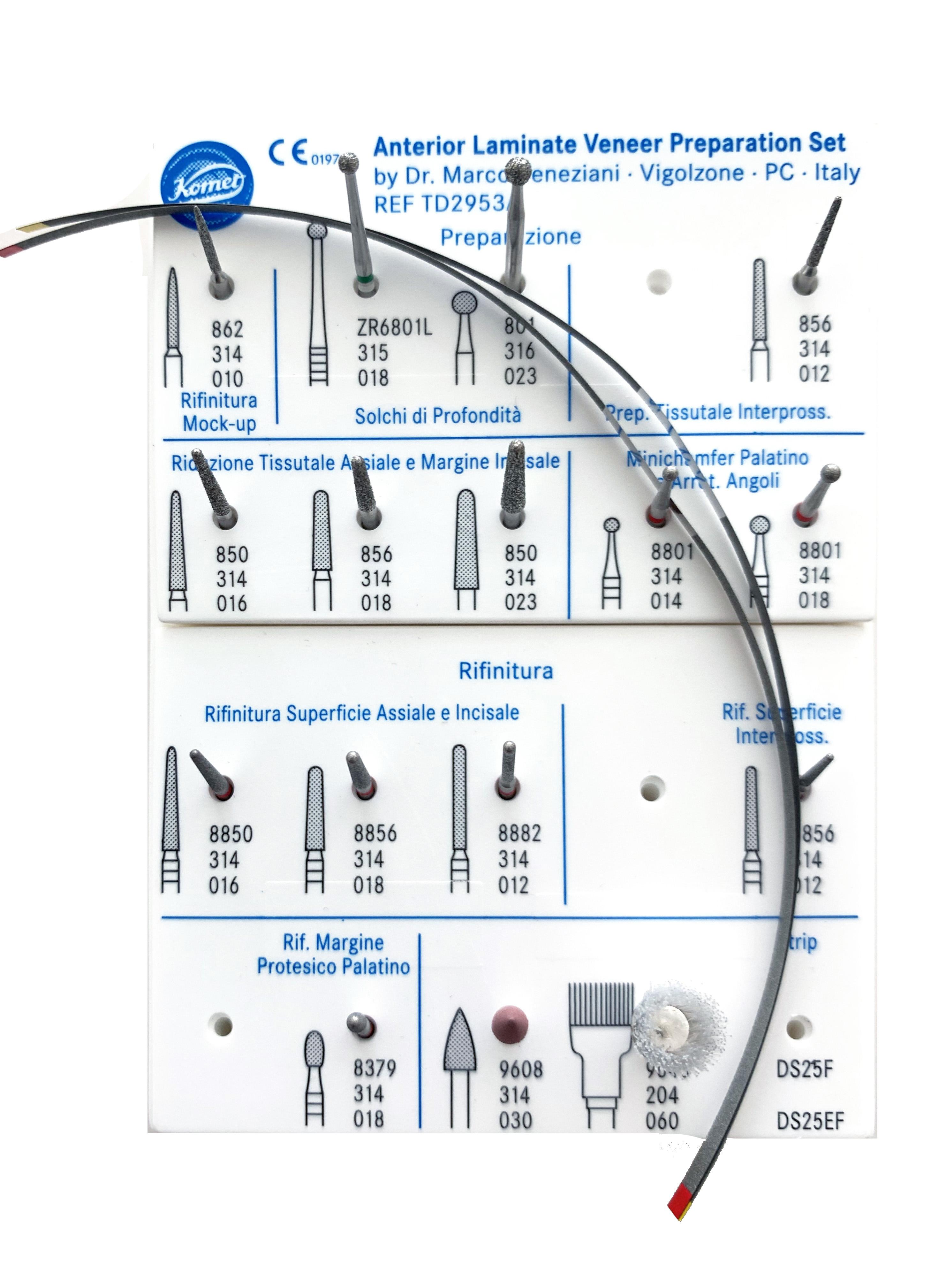 Dr Veneziani Kit 2953A per Veneer (faccette)