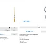 Punte soniche per endodonzia SF65 SF1981