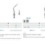 Punte soniche per endodonzia (SF67 e SF68)