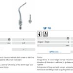 Punte soniche per endodonzia SF69 e SF70