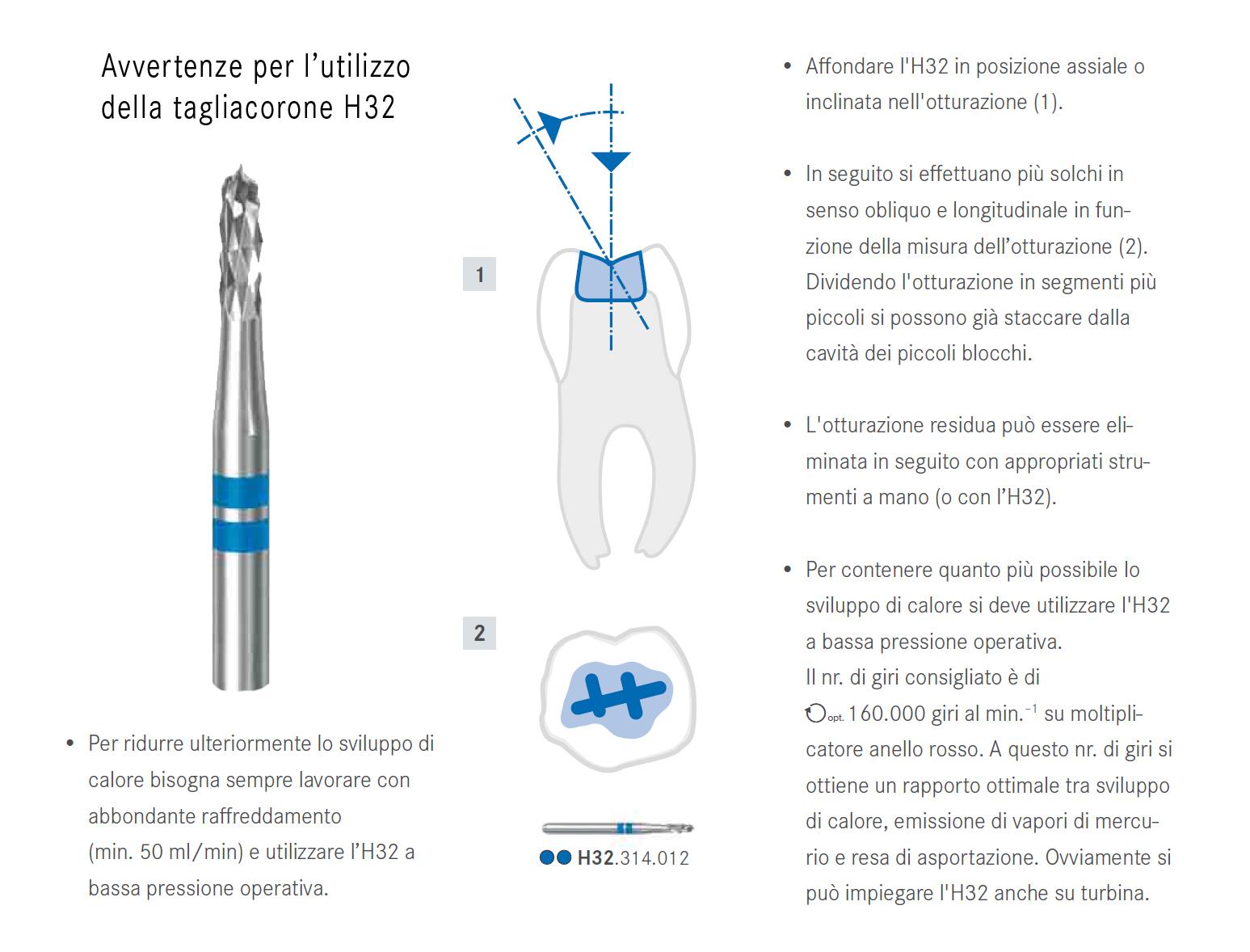 H32-fresa-rimuovi-amalgama-avvertenze-d-uso