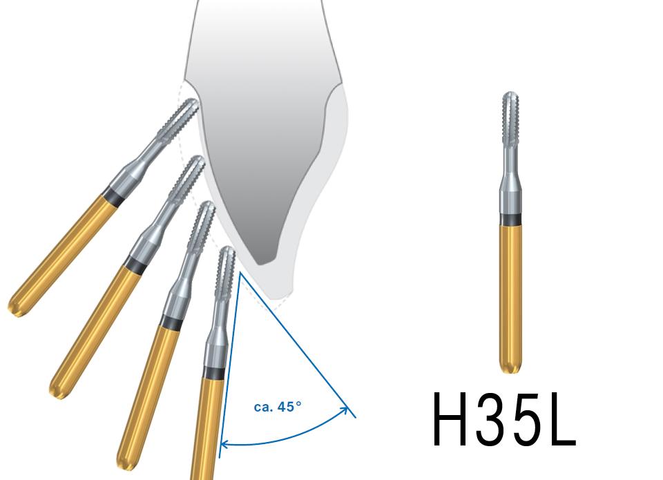 H35L tagliacorone veloce per metalli